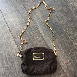 Brown quilted Marc by Marc Jacobs cross body bag